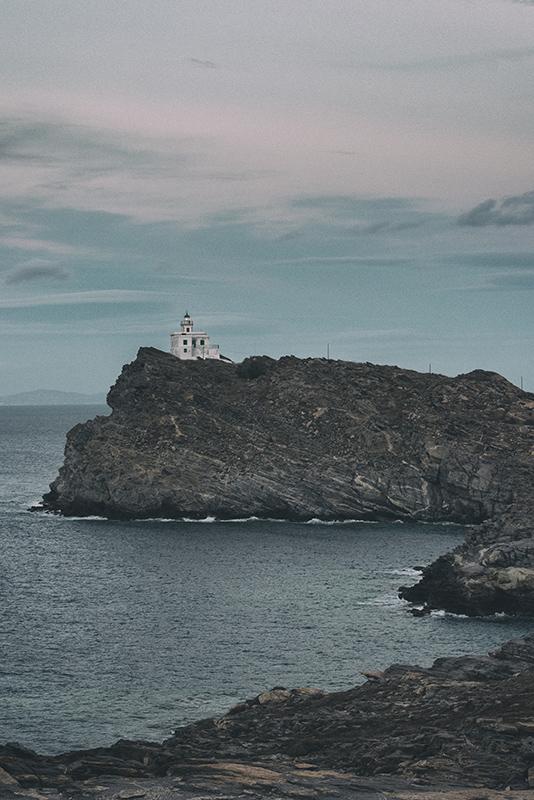 Korakas Lighthouse, Paros, Greece, Photography