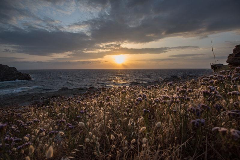 Sunset, Paros, photography